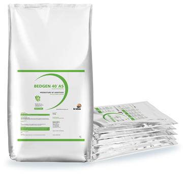 BEDGEN 40  Uno de los mejores productos para la correcta digestión en cerdos y aves