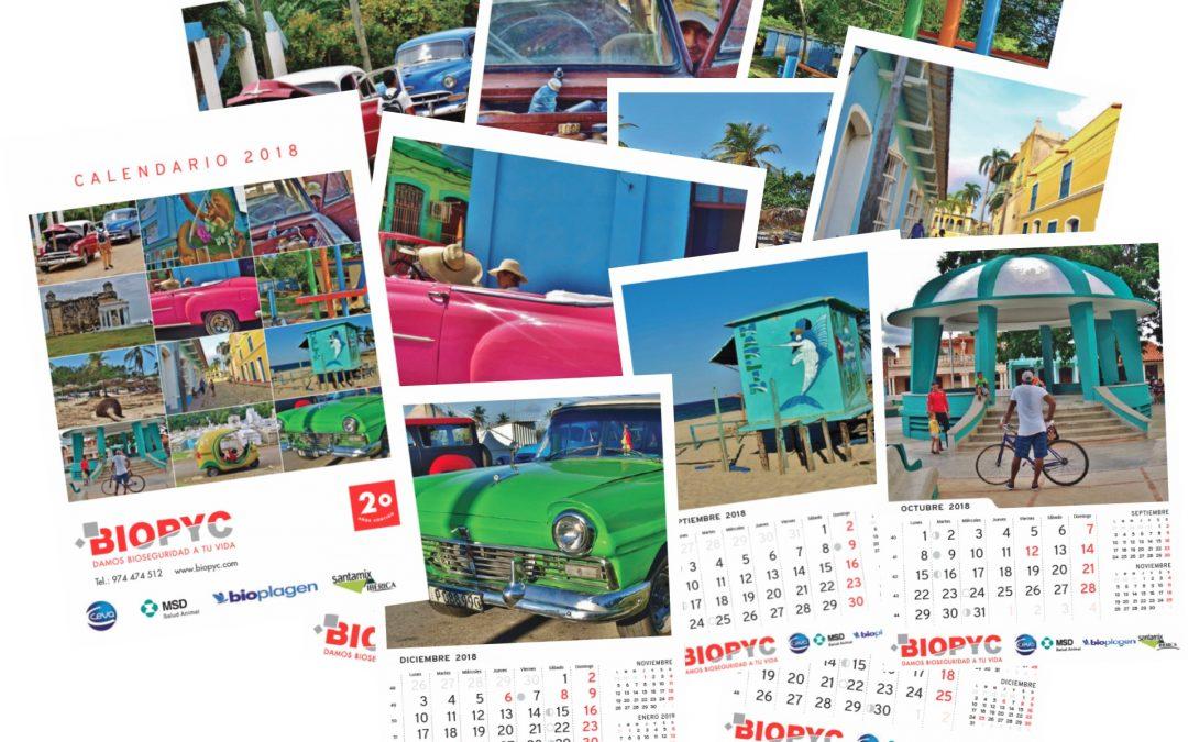Calendario Biopyc 2018