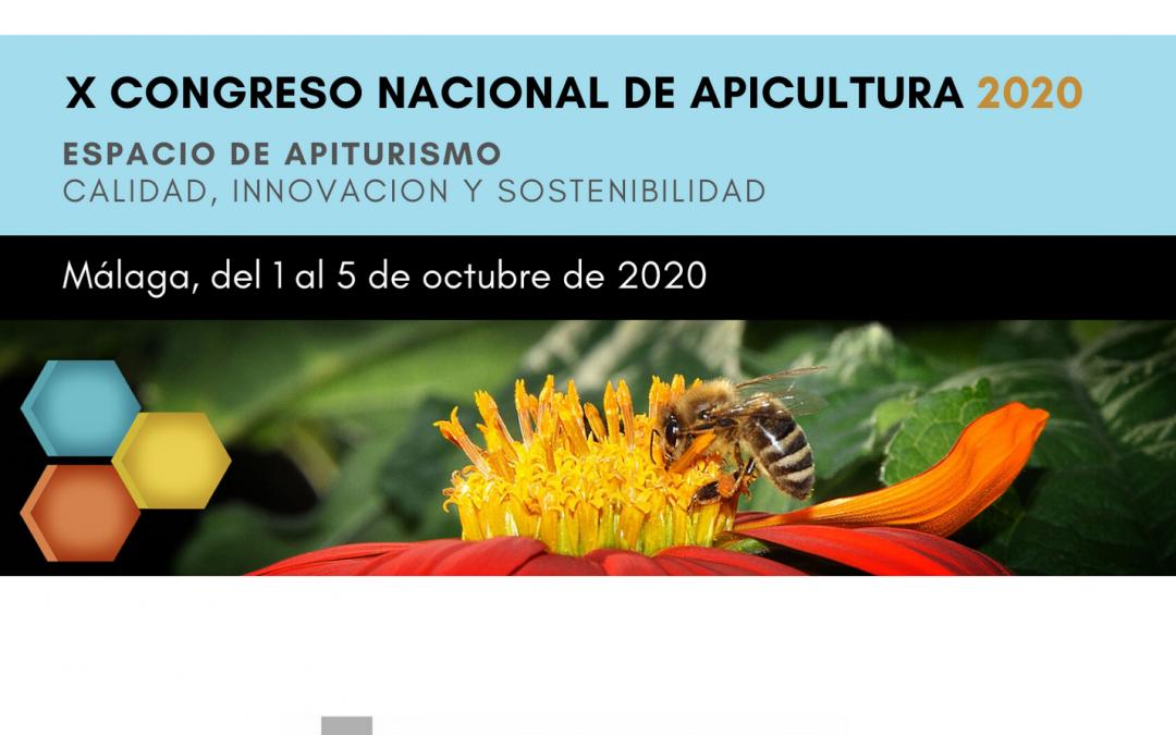 ¡Ven al X Congreso Nacional de Apicultura en Málaga con nosotros!